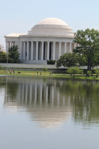 The Jefferson monument.