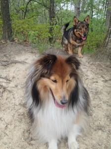 Katie and Peep