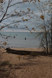 Fishing Lake Huron