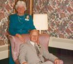 Dad and Mom 1990 Dawn's wedding