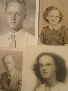 Dad and Mom...before they were parents.