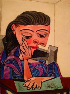 Girl Reading 1938