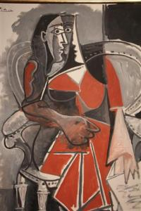 Seated Woman.  1960