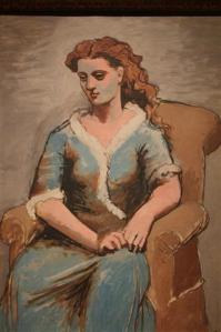 Woman in Arm Chair.  1923
