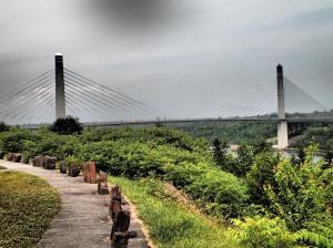 Bridge art.