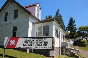 The Coast Guard maintains many of the lighthouses.