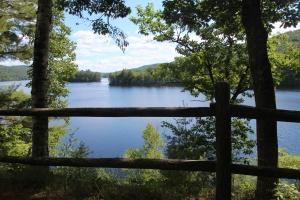 Pretty lake along the way.