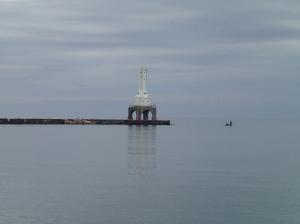 Morning fishing.