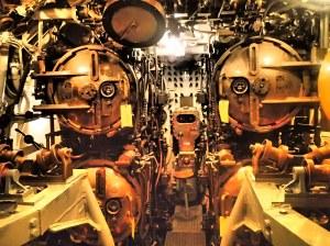 Forward torpedo bays