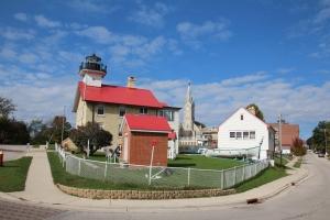 Old light house.