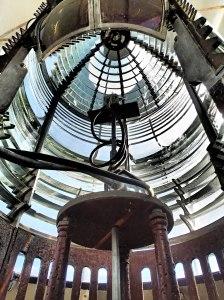 Original lens, Cana Island Lighthouse