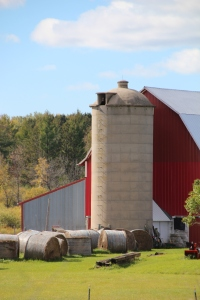 We saw these cement silos everywhere