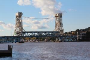 Houghton/Hancock lift bridge.