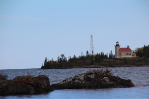 Copper Harbor Lighthouse.