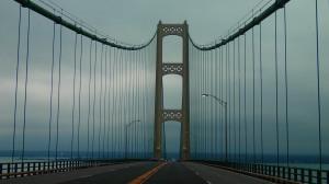 5 miles of bridge.