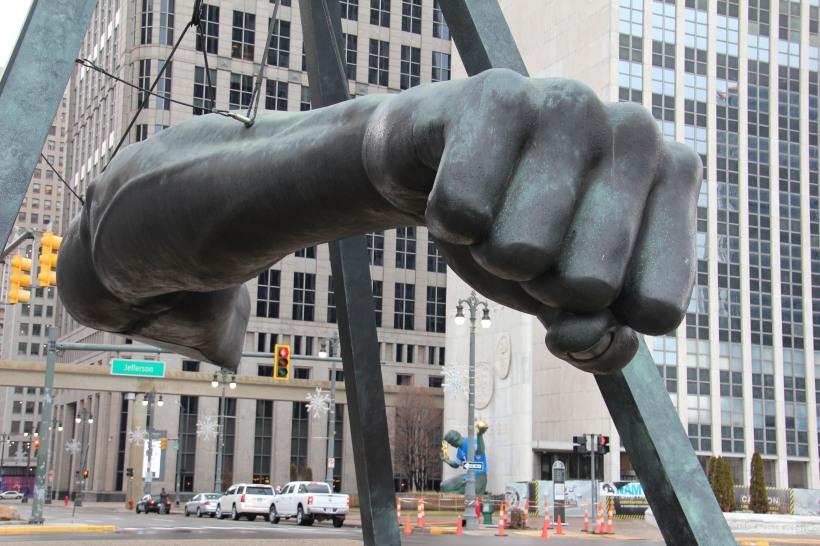 Detroit is strong...like Joe Lewis.