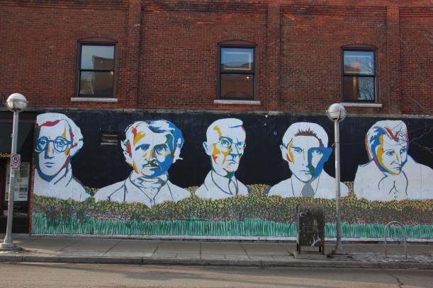 Iconic wall in Ann Arbor MI