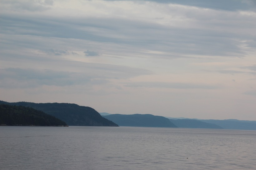 Saguenay's fiord.