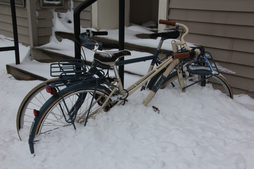 Not the season for bike riding.