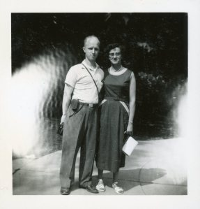 1954 Dad and Mom