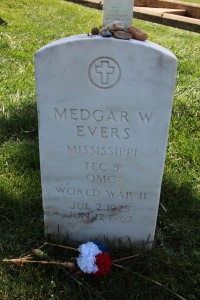 Remembering Medgar Evers.