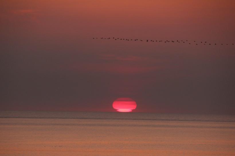 Sunrise photo credit goes to my husband.