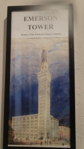 An artist rending of what the tower used to look like.