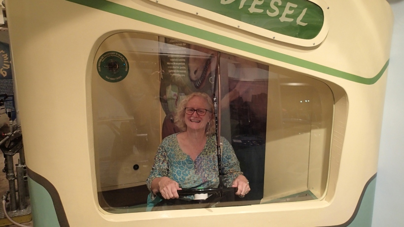 Watch out world!  I'm driving the bus!