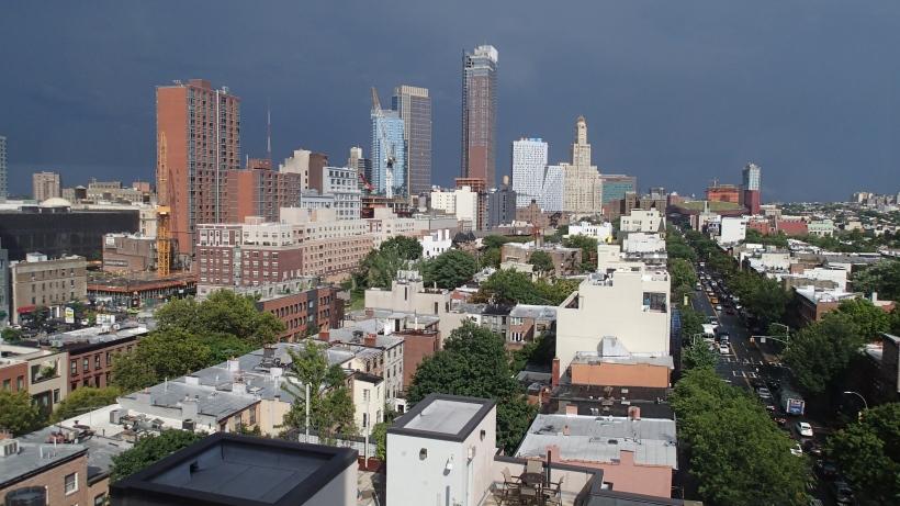 Brooklyn after a storm.