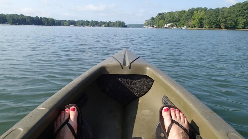 Paddle harder!