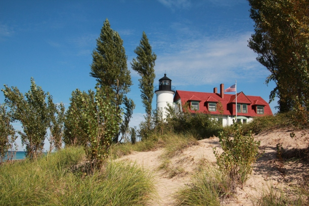 Point Betsie Lighthouse stands in for my folks.