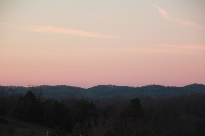 Sunset on evening #1.
