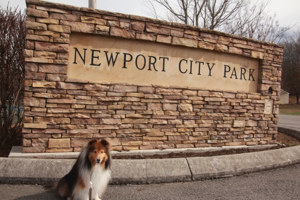 Big sign for this park!
