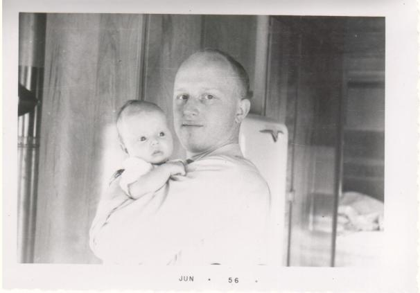 1956 Dad and Dawn